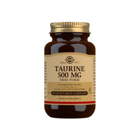 Taurina 500 mg 50 cápsulas
