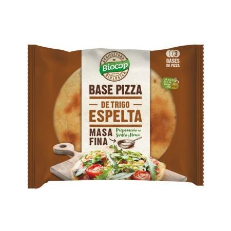 Base de pizza espelta fina
