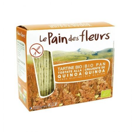 Cracker de arroz con quinoa