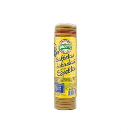Galleta espelta salada
