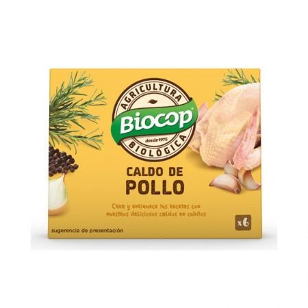 Caldo de pollo cubitos
