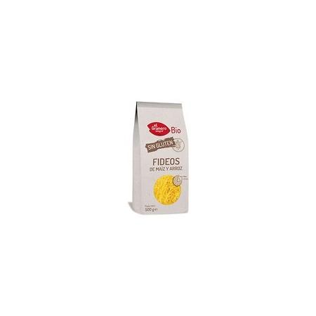 Fideos de maíz y arroz