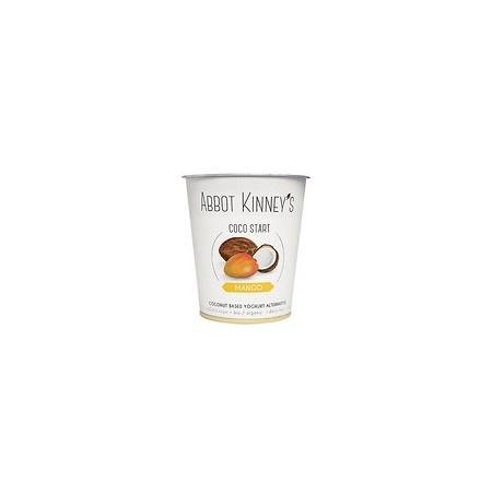 Yogur de coco-mango