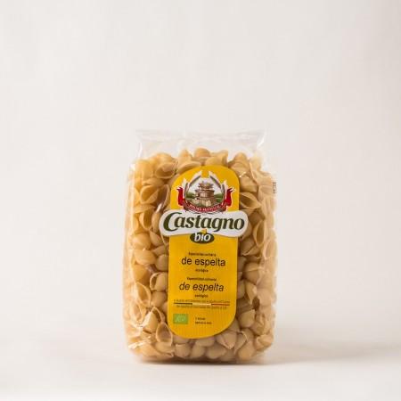 Conchas de trigo duro