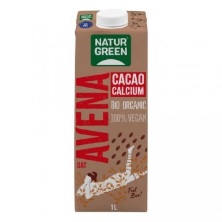 Bebida de avena cacao...