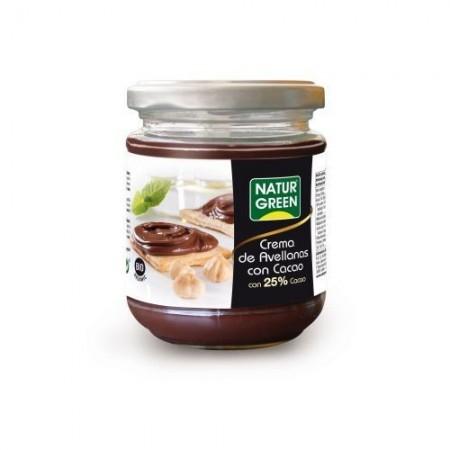 Crema avellanas cacao bio
