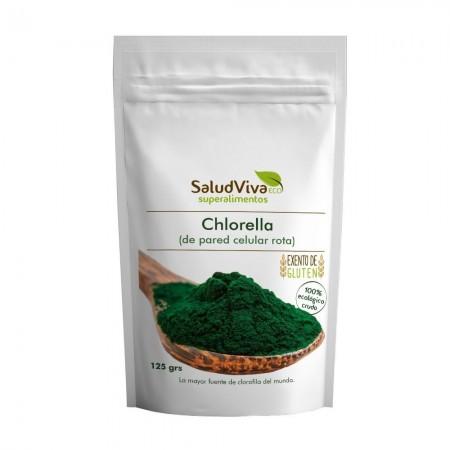 Chlorella polvo