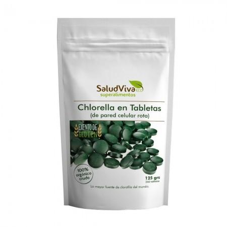 Chlorella comprimidos