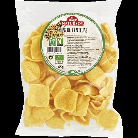 Chips de lentejas