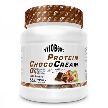 Crema proteica de choco y...