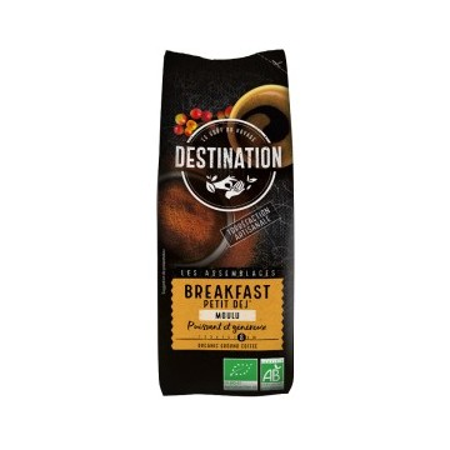 Café molido para desayuno