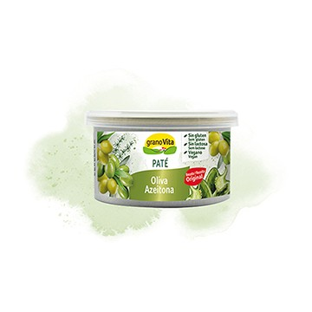 Pate vegetal olivas