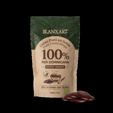 Cacao puro en gotas 100%...