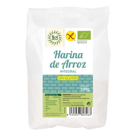 Harina de Arroz integral...