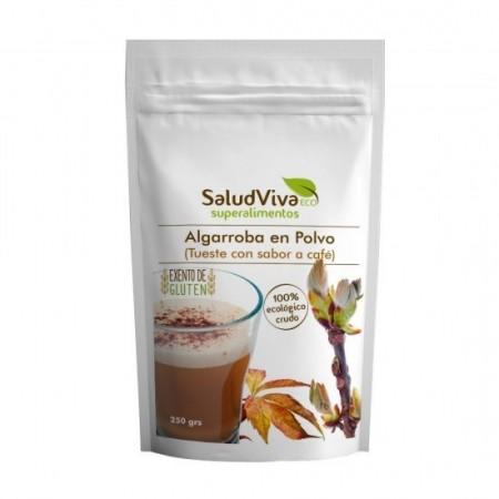Café de Algarroba en polvo