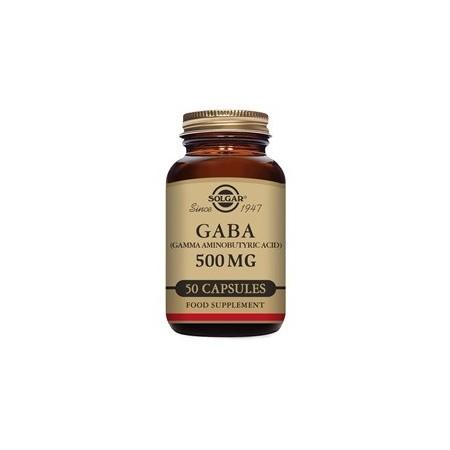 GABA 500 mg 50 cápsulas
