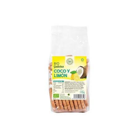 Galletas de coco y limón
