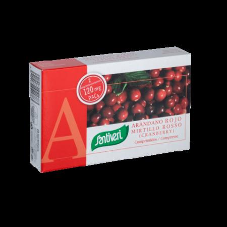 Arandanos rojos comprimidos