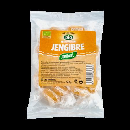 Caramelos de Jengibre bio
