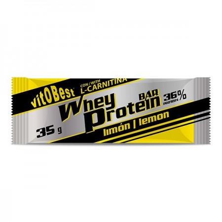 Barrita Whey Protein-Limón