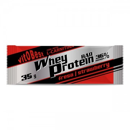 Barrita Whey Protein -Fresa