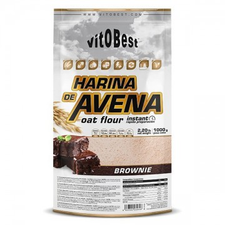 Harina de avena-Brownie