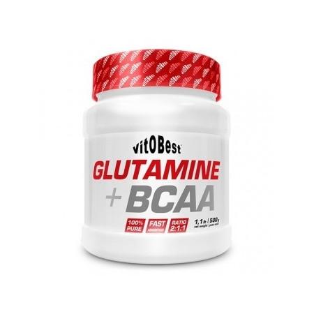 Glutamina + BCAA Complex...