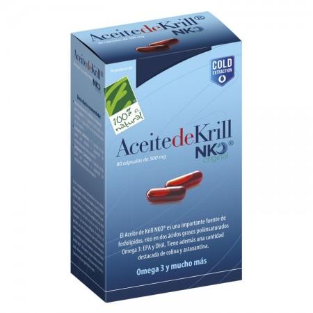 Aceite de Krill 80 cápsulas